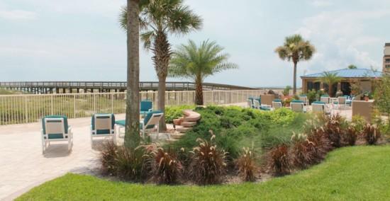 Beachfront Patio Area