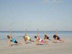 Yoga on the Beach || Amelia Vacations || Vacation Rentals on Amelia Island