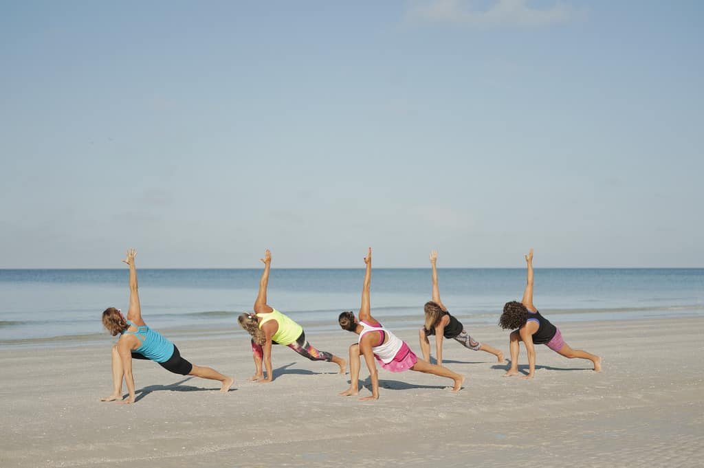 Yoga on the Beach || Amelia Vacations || Vacation Rentals on Amelia Island