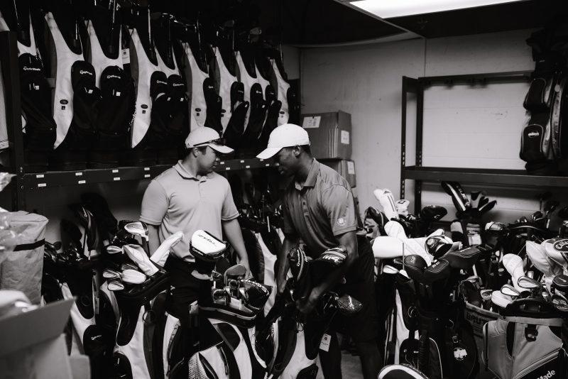 golf locker room