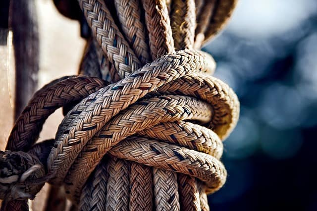 a boat knot