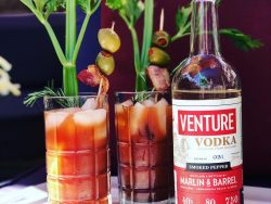 Marlin & Barrel Distillery Venture Vodka in Fernandina Beach