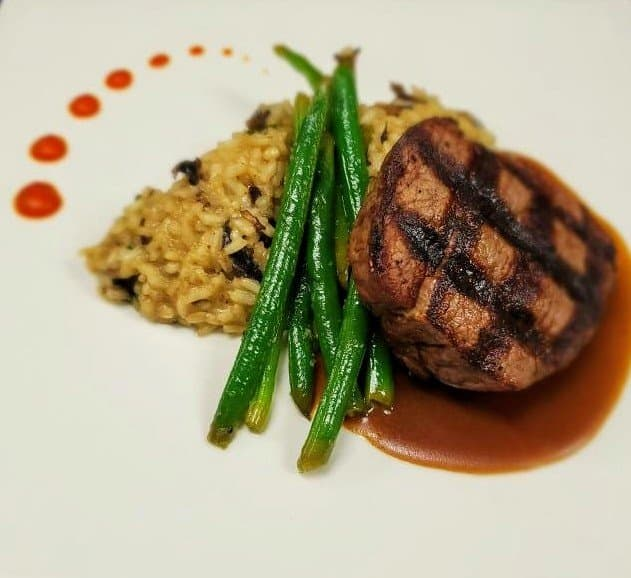 Filet Mignon meal from David's Restaurant & Lounge