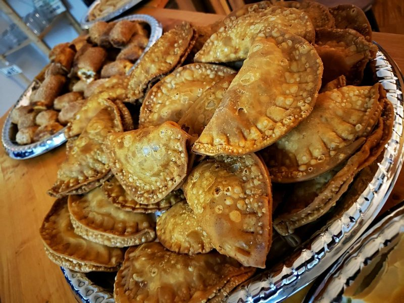 picture of empanadas and pastries from hola cuban cafe