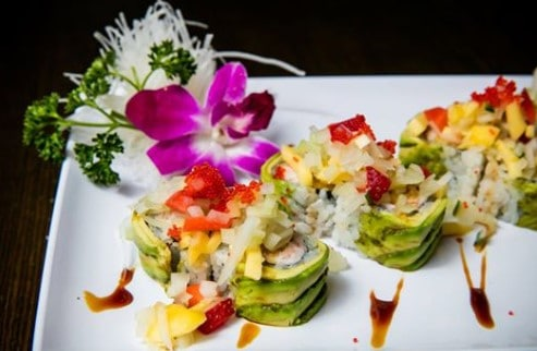 Sushi rolls from Fancy Sushi
