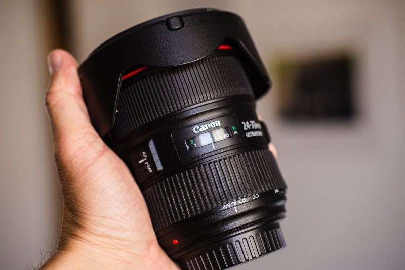 Telephoto lens for Canon camera